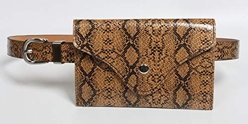 HeroStore Fanny Pack Women Waist Bag Belt Bags Ladies Animal Print Serpentine Snakeskin Leather Small Purse INS 2019 New ping