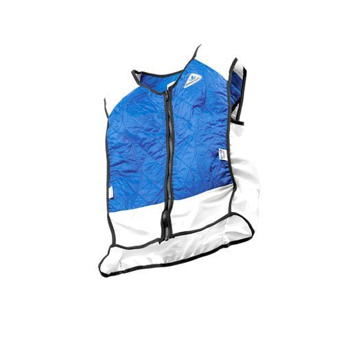 TechKewl Hybrid Cooling Vest, Blue, X-Large by TechKewl