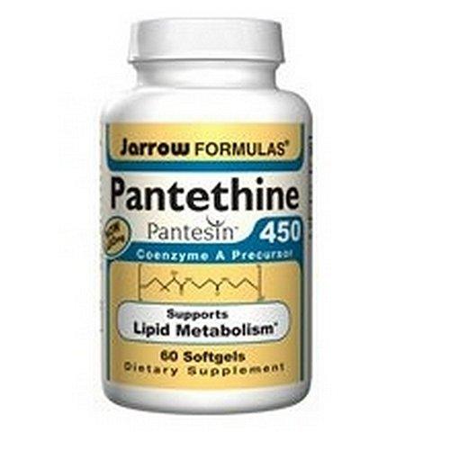 Jarrow Formulas Pantethine, 450mg, 60 Capsules