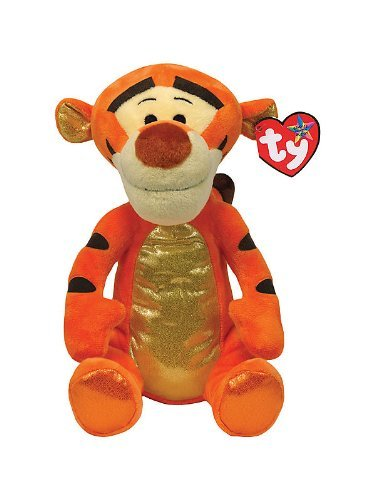 Ty Animal Halloween Costumes (Ty Beanie Buddies Tigger Sparkle Medium)
