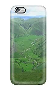 AmandaMichaelFazio XBRipXO16983FJQtH Case For Iphone 6 Plus With Nice Dumfriesshire Hills Hill Green Wild Road Nature Other Appearance Kimberly Kurzendoerfer