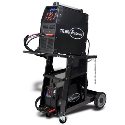 1.Eastwood TIG200 TIG Welder & Versa Cut Plasma Metal Cutter Kit