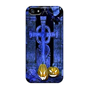 For HugeOfficial Iphone Protective Case, High Quality For Iphone 5/5s Graveyard Skin Case Cover