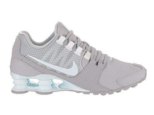Nike Shox Avenue Se De Vrouwen Loopschoenen Wolf Grijs / Glacier Blauw-wit