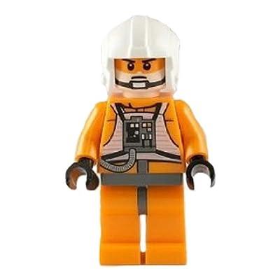 LEGO Minifigure - Star Wars - Zev SENESCA (Plain Helmet): Toys & Games