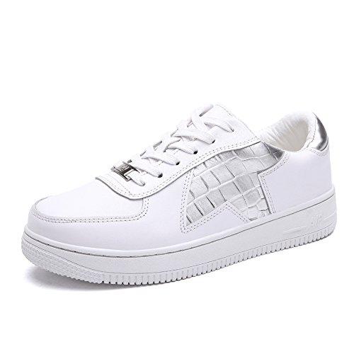 Zapatillas de primavera/Zapato Señora de ocio/escoge los zapatos/Zapatitos blancos B