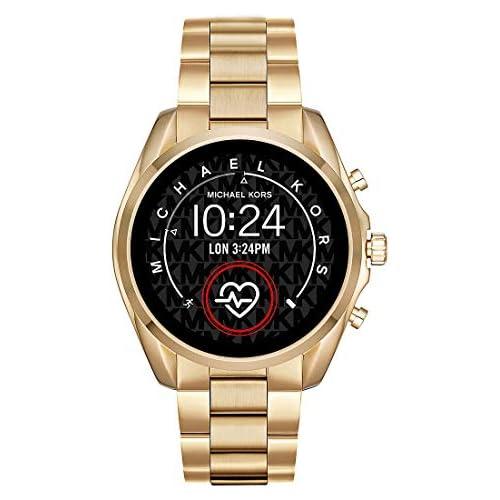 chollos oferta descuentos barato Micheal Kors Connected Smartwatch con tecnología Wear OS de Google altavoz frecuencia cardíaca GPS NFC y notificaciones smartwatch