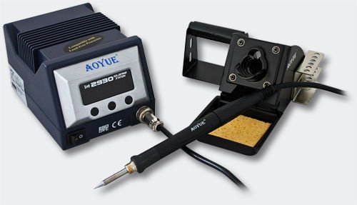 Aoyue int2930 regulable profesional Soldadura SMD plomo libre 70 W 200... 480 °? ESD seguro: Amazon.es: Industria, empresas y ciencia