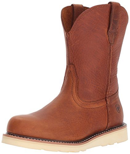 Ariat Men's Rambler Recon Round Toe Work Boot, Golden Grizzly, 11 E US