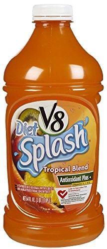 - V8 Splash Diet Tropical Blend 64 Oz (Pack of 4)