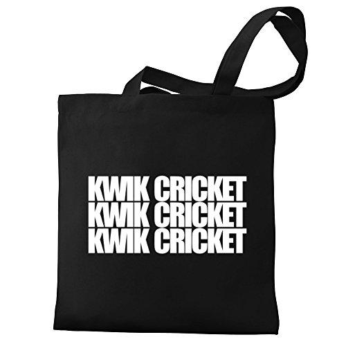 Eddany Kwik Cricket three words Bereich für Taschen