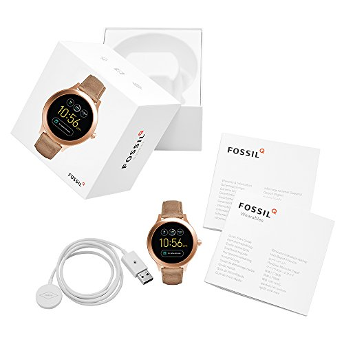 Fossil Gen 3 Smartwatch - Q Venture Sand Leather FTW6005 by Fossil (Image #4)
