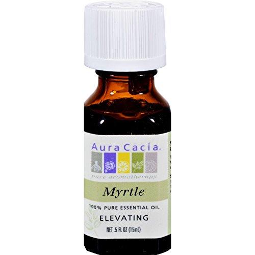 Aura Cacia - Essential Oil Myrtle (Myrtus Communis) 0.5 - Market Myrtle