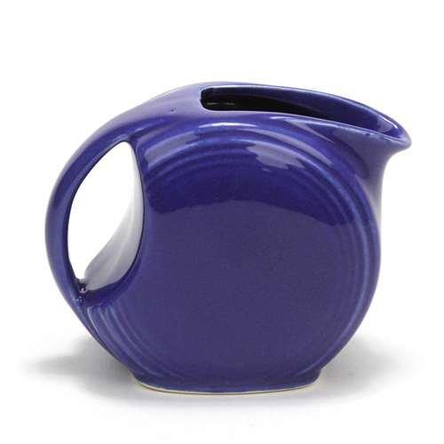Cream Pitcher, Ceramic, Cobalt Blue, Deco Design