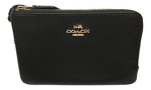 Coach Pebbled Leather Double Wristlet product image