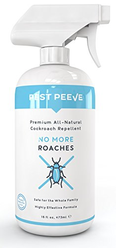 Ant Roach Spray (No More Roaches - Natural, Super Strength Roach and Ant Killer Spray - Cockroach Repellent and Deterrent - Eco-friendly and Safe for the Family (16)