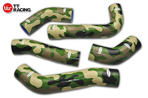 Silicone Intercooler Radiator Turbo Hose Kit For Toyota Supra MK3 MA70 7M-GE/7M-GTE 89-92 Camo Green:
