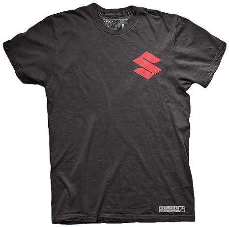 Black, XX-Large 17-87408 Factory Effex SUZUKI Performance T-Shirt