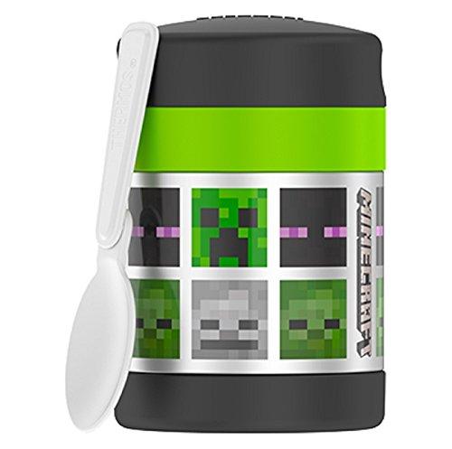 Thermos Minecraft 10 oz Funtainer Food Jar - Green