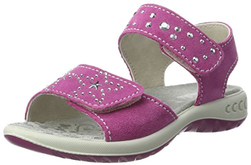 Lurchi Mädchen Ferry Sandalen Pink (Fuchsia)