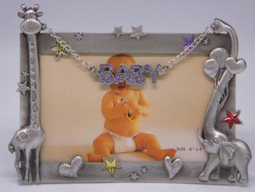 Finish Pewter Baby Frame (6×4