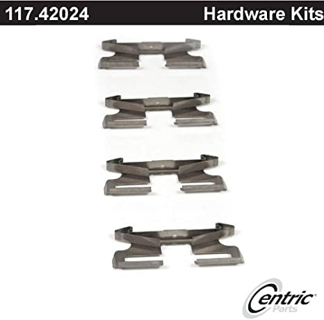 Disc Brake Hardware Kit Rear Centric 117.42024