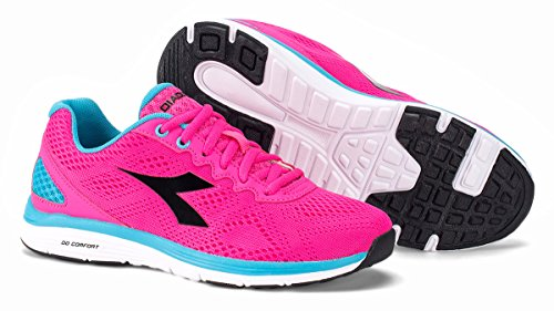 Diadora Swan 2 W, Zapatos para Correr para Mujer Rosa