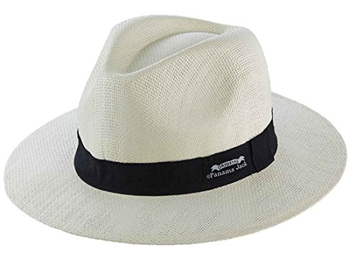 [Original Panama Jack Matte Toyo Straw Safari Sun Hat,Ivory, L/XL] (Straw Safari Hat)