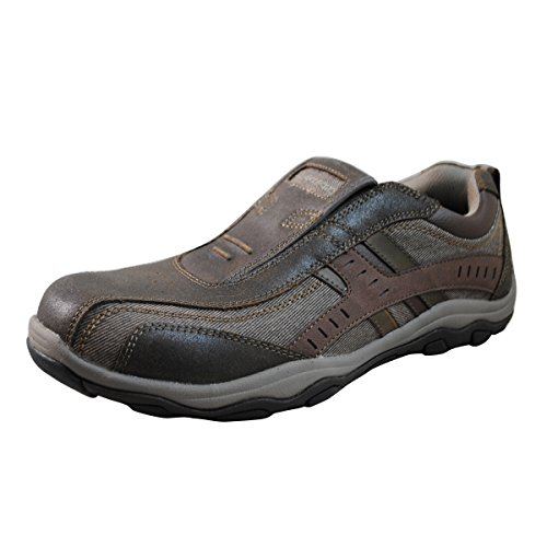 Skechers Usa Heren Galg-lookon Instapper Bruin