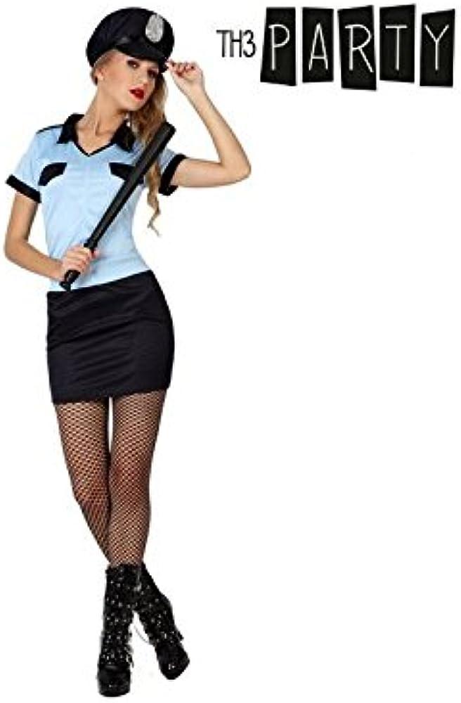 Disfraz para Adultos Th3 Party 1006 Policía mujer: Amazon.es: Ropa ...