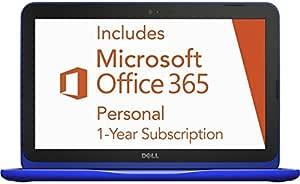 2016 Dell Inspiron 11.6 inch High Performance Laptop, Intel Celeron Dual-Core Processor, 2GB RAM, 32GB eMMC SSD, Webcam, WIFI, HDMI, Windows 10, 1 Year Microsoft Office 365