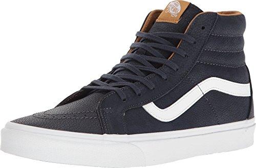 Unisex Premium Leather - Vans Unisex Premium Leather SK8-Hi Reissue Parisian Night/True White Sneaker - 11