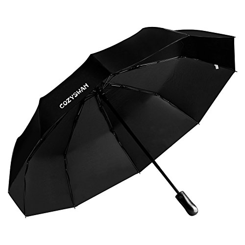 Umbrella Cozyswan Automatic Sunscreen Function Black