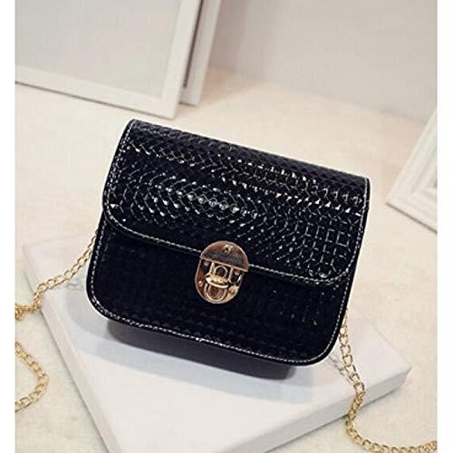 Tout Bags À QZTG Sacs Gold Fourre Silver PU Capacité main Women's Main à Grande Black Buttons Bag De Polyurethane sac Noir Crossbody B6w6IqWT
