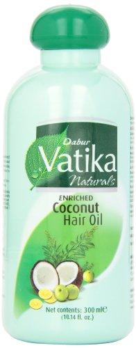 Dabur  Vatika Hair Oil, 300-ml Bottles (Pack of 4)