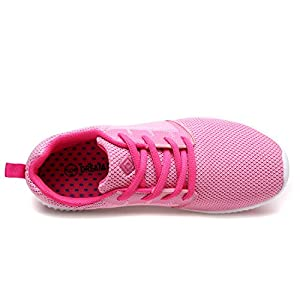 DREAM PAIRS Women's 170389-W Pink H.Pink Running Shoes Comfort Sneakers - 6.5 M US