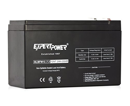 ExpertPower EXP1272 12V 7.2 Amp Rechargeable Battery