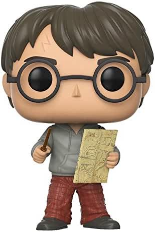 Funko w Pop Movies Potter-Harry w/ Marauders Map