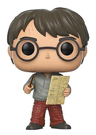 Funko Pop Movies: Harry Potter-Luna Lovegood w/ Lion Head Collectible Figure Funko Pop! Movies: 14944 Accessory Toys & Games