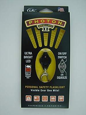 Photon II llavero con linterna - amarillo rayo: Amazon.es ...