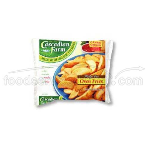 Cascadian Farm Organic Wedge Cut Oven Fry Potato, 16 Ounce -- 12 per case.