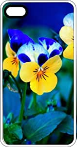 Spring Flowers Clear Rubber Case for Apple iPhone 5 or iPhone 5s