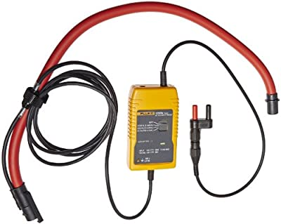 Fluke I3000 FLEX-4PK AC Current Clamp, 600V Voltage, 3000A AC rms Current (Pack of 4)
