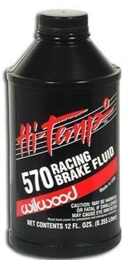 Wilwood 290-0632 Brake Fluid (Quantity 6)