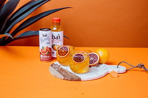 Bai Costa Rica Clementine, Antioxidant Infused, Flavored Water Drink, 18 Fluid Ounce Bottles, 12 count