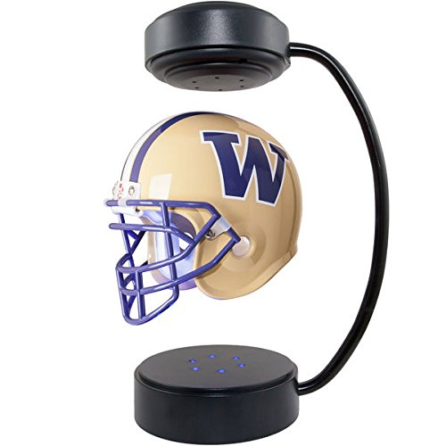 NCAA Hover Helmet – Collectible Levitating Football Helmet with Electromagnetic Stand