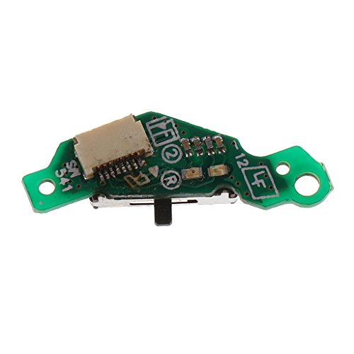 Dolity On/ Off Switch Power Button Board for Sony PSP 3000 Green