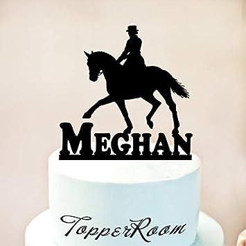 Dressage Horse Cake Topper,Horse Cake Topper,Horse cake