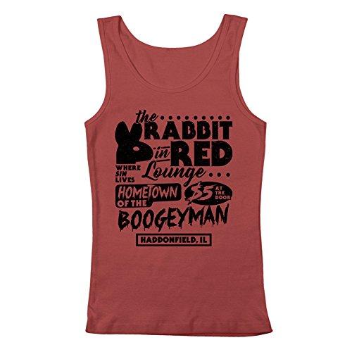 GEEK TEEZ Rabbit in Red Lounge Men's Tank Top Red Large