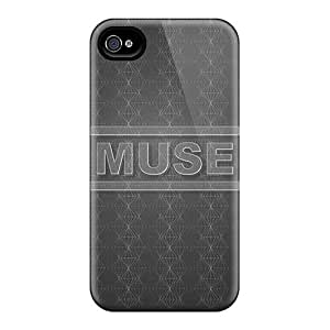Anti-Scratch Hard Phone Case For Iphone 4/4s With Allow Personal Design Vivid Muse Pattern AnnaDubois